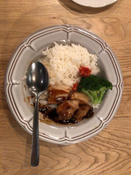 マンゴツリーカフェ池袋店 豚のタイ醤油煮込みライス